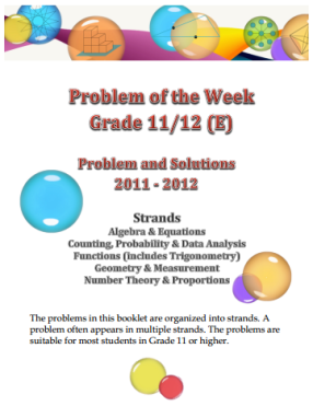Problem of the week(solution)