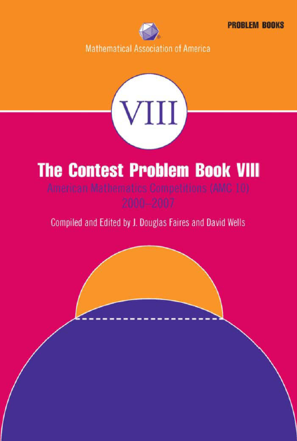 The-Contest-Problem-Book-VIII-2000-2007